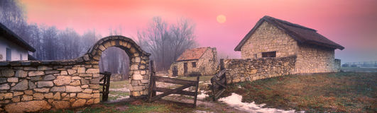 Ukrainian historical southern country side Stock Images