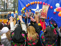 Ukrainian holiday Maslenitsa (pancake week) Stock Photography