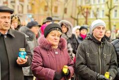 Ukrainian Holodomor Memorial Day Stock Photos