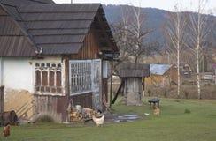 Ukrainian homestead. Royalty Free Stock Image