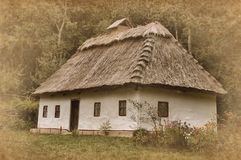 Ukrainian house Stock Images
