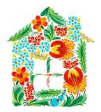Ukrainian house Stock Images