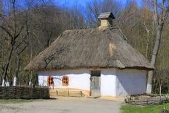 Ukrainian house Stock Photography