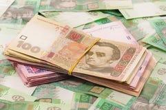 Ukrainian hryvna Stock Photo