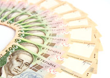 Ukrainian hryvnia. Stock Images