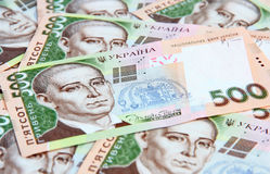 Ukrainian hryvnia. Royalty Free Stock Photo
