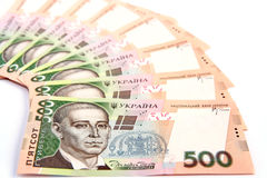 Ukrainian hryvnia. Stock Photos
