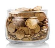 Ukrainian hryvnia coins Stock Images