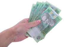 Ukrainian hryvnia currency Stock Photo