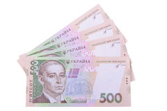 Ukrainian hryvnia currency Royalty Free Stock Image