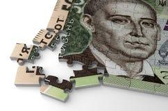 Ukrainian Hryvnia Puzzle Royalty Free Stock Photos