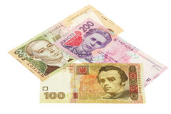Ukrainian hryvnia Stock Images
