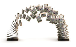 Ukrainian Hryvnia Transfer Royalty Free Stock Image