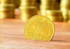 Ukrainian hryvnias Stock Image