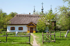 Ukrainian hut Stock Photo