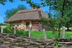 Ukrainian hut Royalty Free Stock Photos