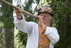 Ukrainian Hutsul Stock Image