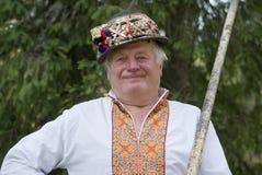 Ukrainian Hutsul Royalty Free Stock Photography