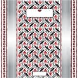 Ukrainian label folk background banner Stock Photos