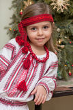 Ukrainian little girl Stock Photography