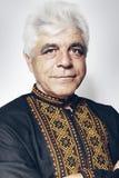 Ukrainian man in the  shirt Stock Photo