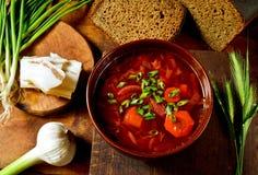 Ukrainian meal stock photos