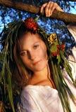 Ukrainian mermaid Royalty Free Stock Photos