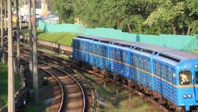Ukrainian metro stock video footage