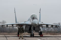 Ukrainian MiG-29 Stock Image