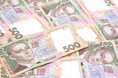 Ukrainian money Royalty Free Stock Photo