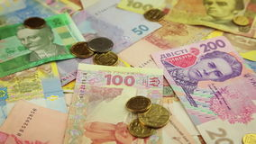 Ukrainian Money stock video