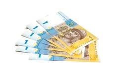 Ukrainian money (hryvnia) Royalty Free Stock Photos