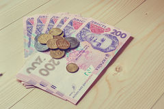 Ukrainian money Royalty Free Stock Image