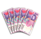 Ukrainian money Royalty Free Stock Photography