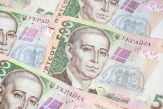 Ukrainian money - UAH Royalty Free Stock Image