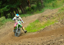 Ukrainian Motocross Championship Royalty Free Stock Images