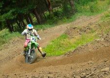 Ukrainian Motocross Championship Royalty Free Stock Images