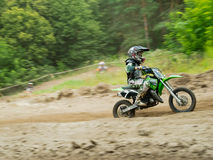Ukrainian Motocross Championship Royalty Free Stock Photography