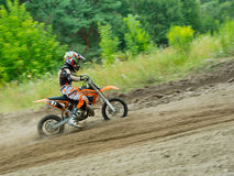 Ukrainian Motocross Championship Stock Photography