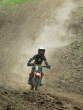 Ukrainian Motocross Championship Royalty Free Stock Image