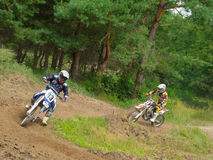 Ukrainian Motocross Championship Royalty Free Stock Photo