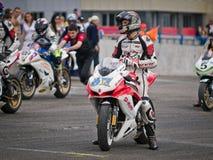 Ukrainian motordrome Chaika - Superbike  Ring Race Stock Photography