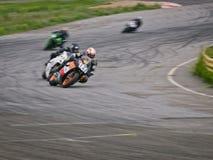 Ukrainian motordrome Chaika - Superbike  Ring Race Royalty Free Stock Images