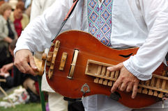 Ukrainian  musical instrument Stock Photos