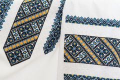 Ukrainian national clothes. Royalty Free Stock Images