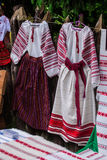 Ukrainian national costume Stock Image