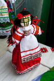 Ukrainian national doll Stock Images