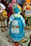 Ukrainian national doll Stock Photography