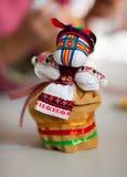 Ukrainian national doll (motanka) Stock Photo