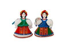 Ukrainian national doll Stock Image